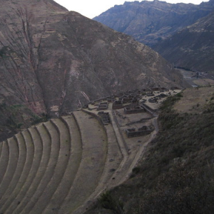 "Pisac terraces • <a style=""font-size:0.8em;"" href=""http://www.flickr.com/photos/70723747@N06/6434613291/"" target=""_blank"">View on Flickr</a>"
